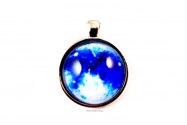 Wisiorek klasyczny - Blue Moon